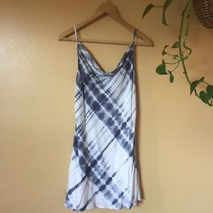 NWT Olivaceous Tie Dye Slip Dress // L